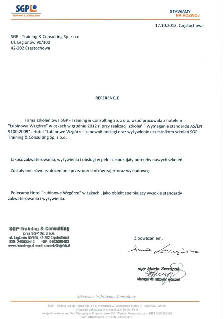 Referencje-dla-Łubinowego-Wzgórza-od-SGP-Training&Consulting-Sp.-z-o.o