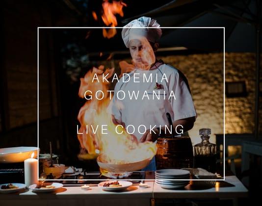 akademia gotowania live cooking